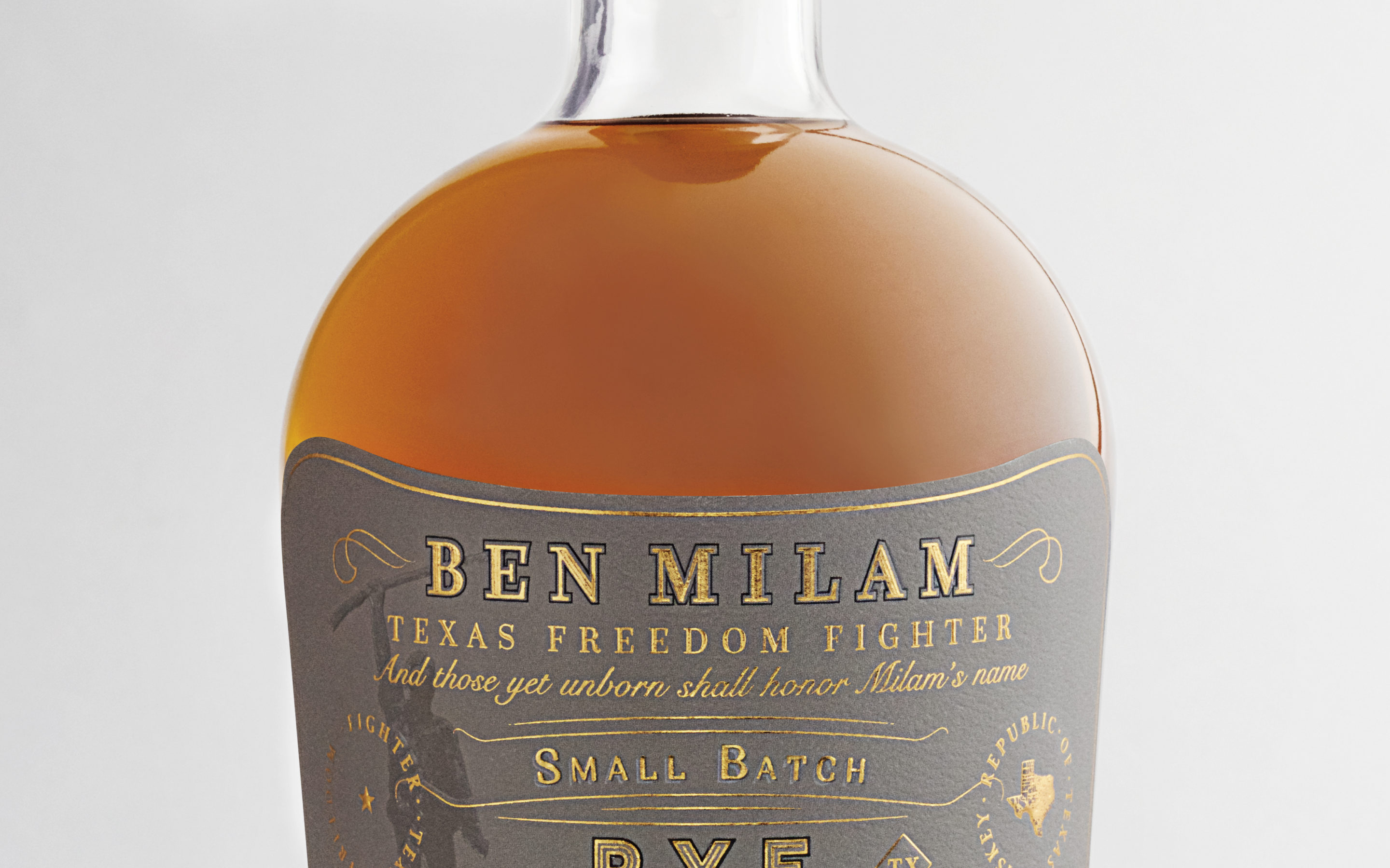 Blanco's Ben Milam Whiskey releases a small-batch rye