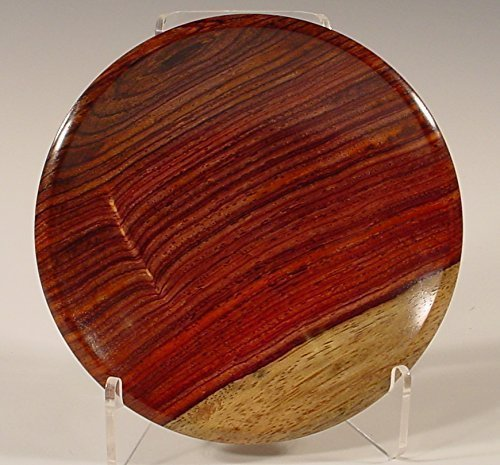 Exotic Hand Turned Cocobolo Ring Dish