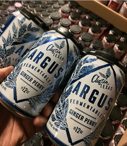 Argus Cidery launches new can for Ginger Perry