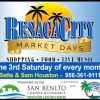San Benito: Resaca City Third Saturday Market Days