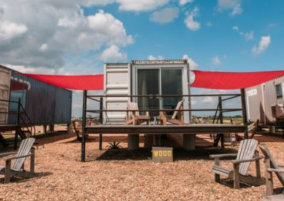 Round Top: FlopHouze – Shipping Container Hotel