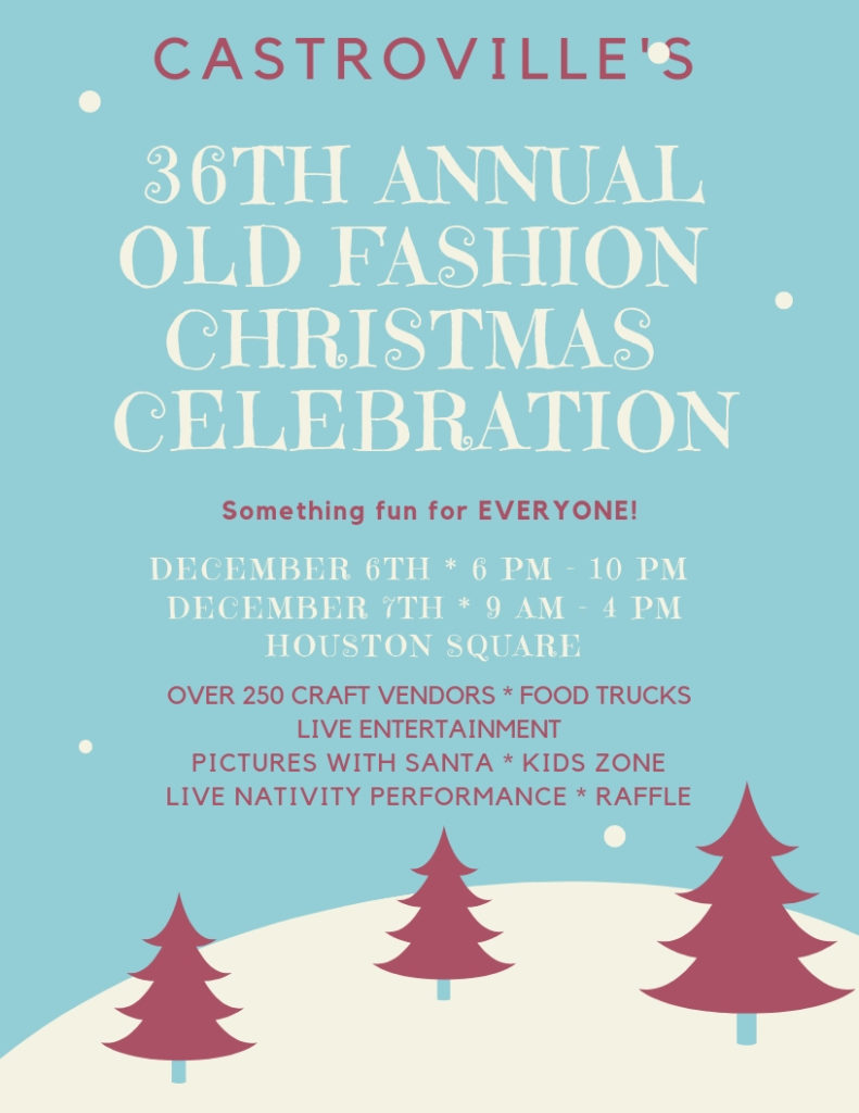 Old Fashioned Christmas Castroville 2020 Castroville: Old Fashion Christmas Celebration ⋆ Texas Artisan