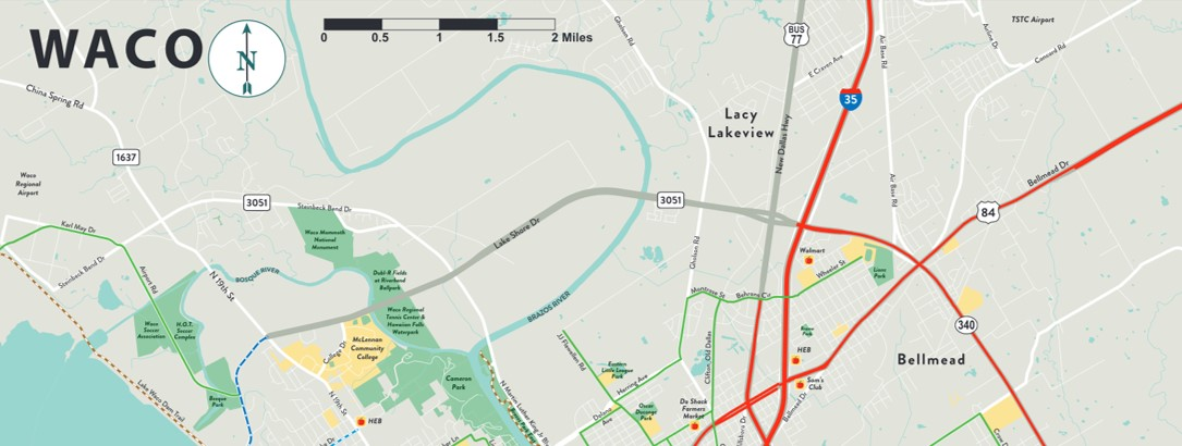 """Waco releases new """"Cycling in Waco"""" map"""