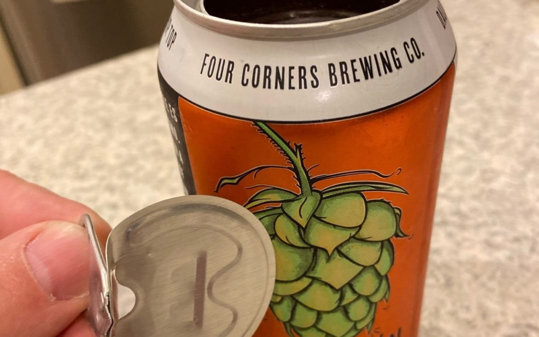 Dallas: Top-pop can from Four Corners Brewing