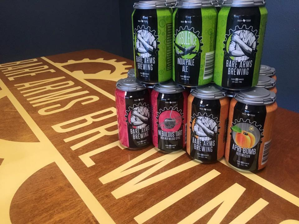 Two Rivers Beer Company Acquires Waco's First Craft Brewing Company Bare Arms Brewing