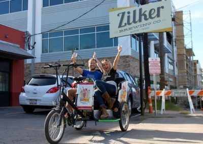 Private Austin Brewery Tour by Pedicab