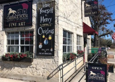 Boerne: Carriage House Gallery